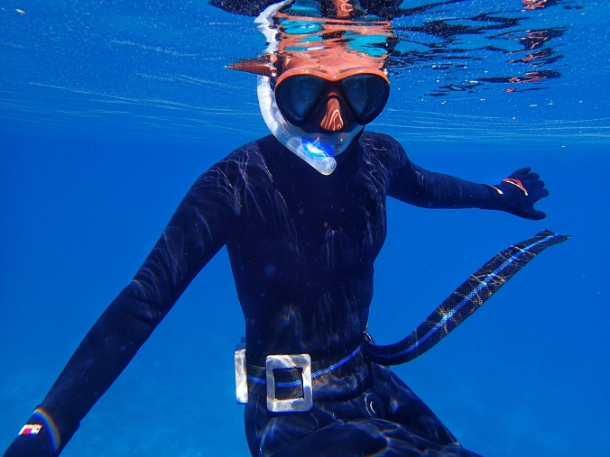 My first freediving suit