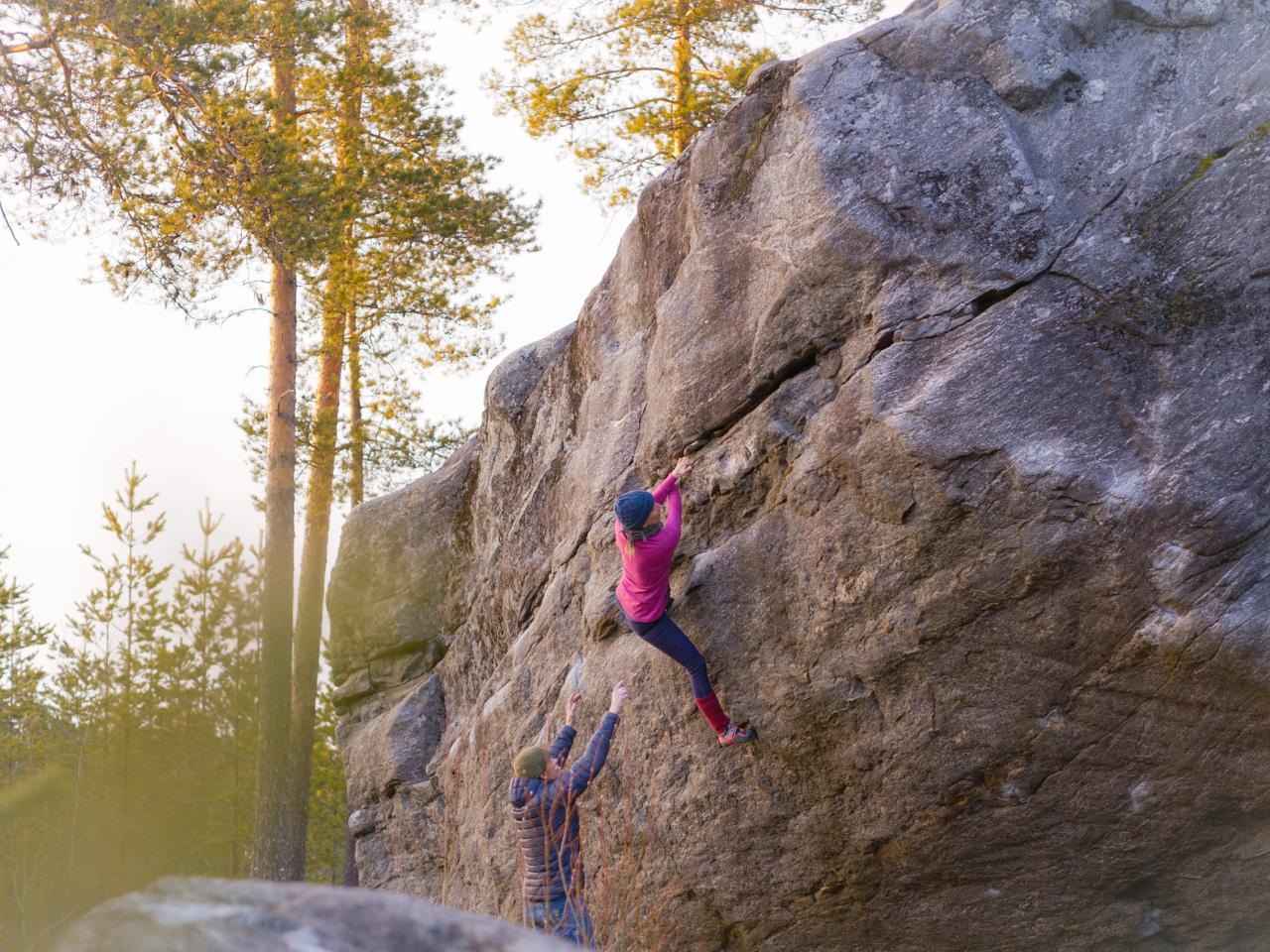 Distanssia arkeen (7A+)